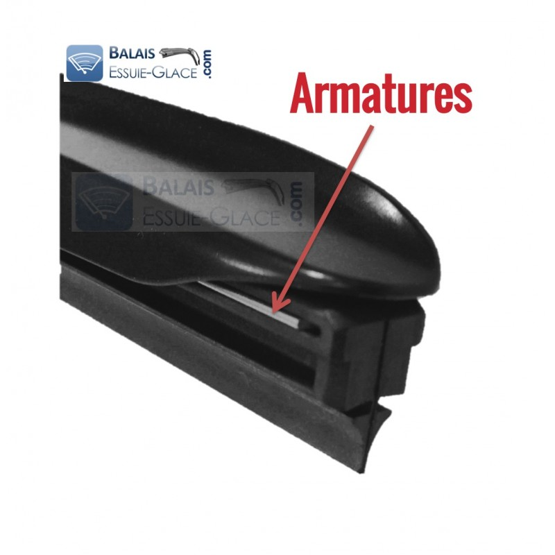 300 mm Exact Fit pour MITSUBISHI GRANDIS 2004-2010 Essuie-Glace Lame 12 in environ 30.48 cm